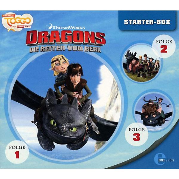 cd dragons die reiter von berk starter box dragons mytoys. Black Bedroom Furniture Sets. Home Design Ideas