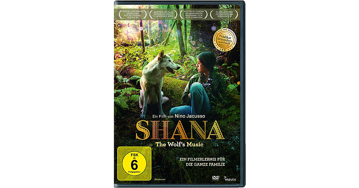 DVD Shana - The Wolf´s Music