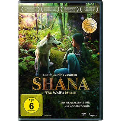 DVD Shana - The Wolf's Music