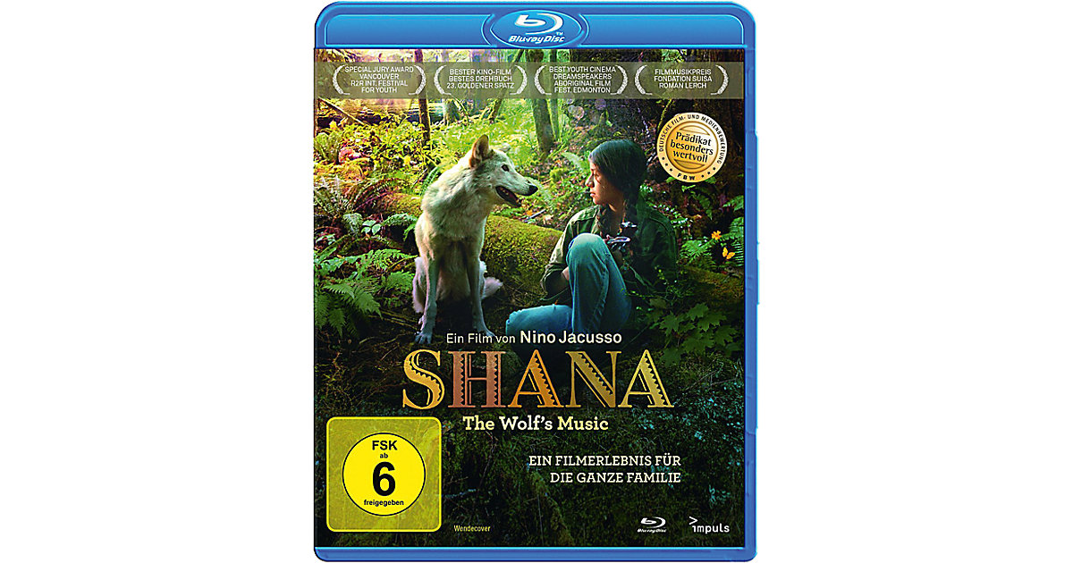 BLU-RAY Shana - The Wolf´s Music