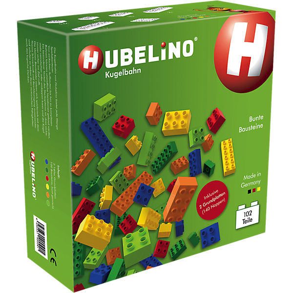 Hubelino - Bunte Bausteine, 102-tlg., Hubelino