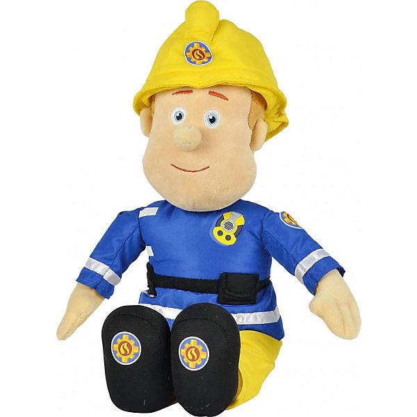 Sam Plüschfigur, 45cm, Feuerwehrmann Sam