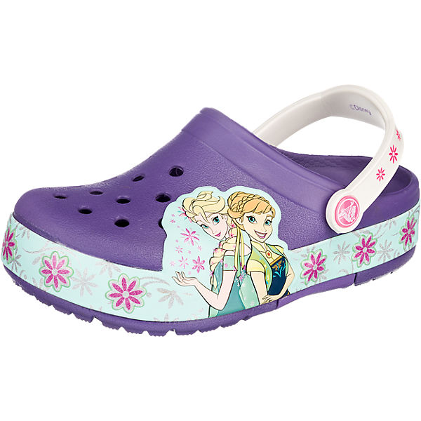 DISNEY DIE EISKÖNIGIN Kinderschuhe Lights Frozen Fever Clog Blinkies