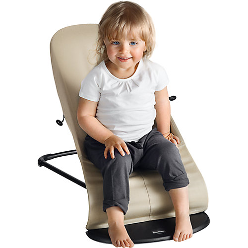 Кресло-шезлонг BabyBjorn Balance Soft Cotton Jerrsey серый от BabyBjorn