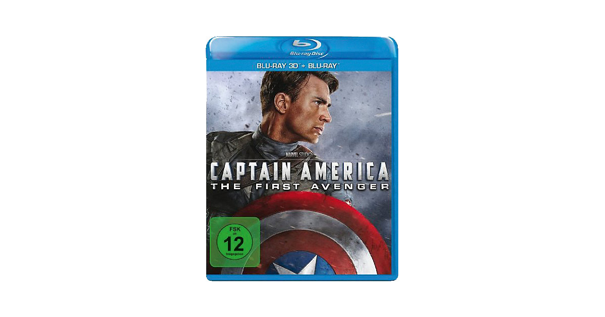 BLU-RAY Captain America - The First Avenger (Bl...