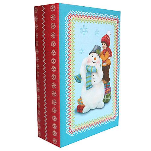 "Шкатулка ""Снеговик и мальчик"" от Феникс-Презент"
