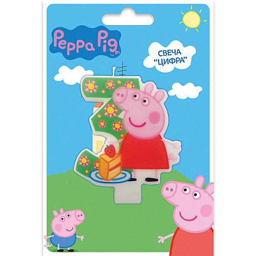 Свеча-цифра №3, Свинка Пеппа от Росмэн