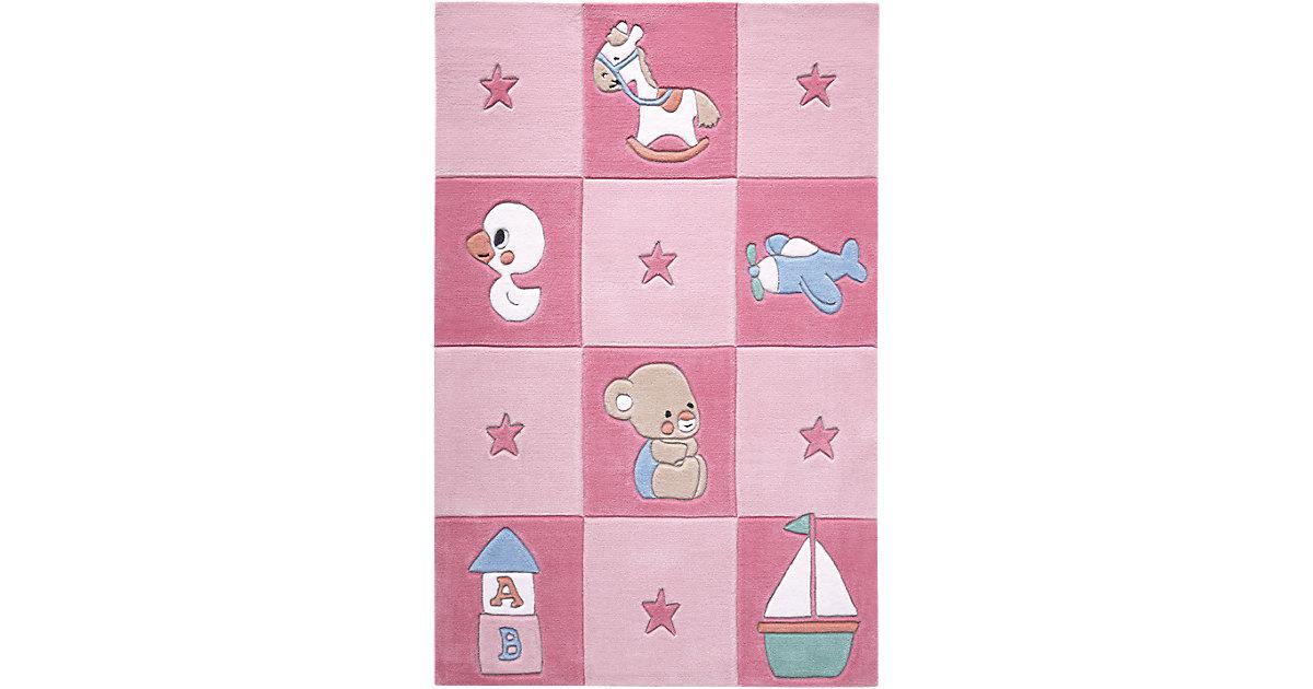 Smart Kids · Teppich Newborn, rosa Gr. 130 x 190