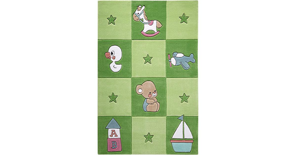 Smart Kids · Teppich Newborn, grün Gr. 130 x 190