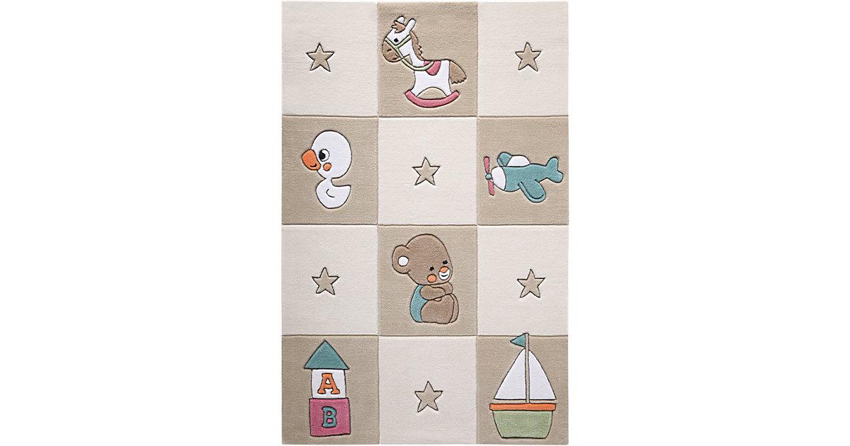 Smart Kids · Teppich Newborn, beige Gr. 130 x 190