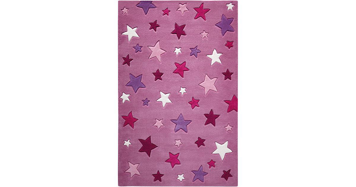Smart Kids · Teppich Simple Stars, pink Gr. 130 x 190