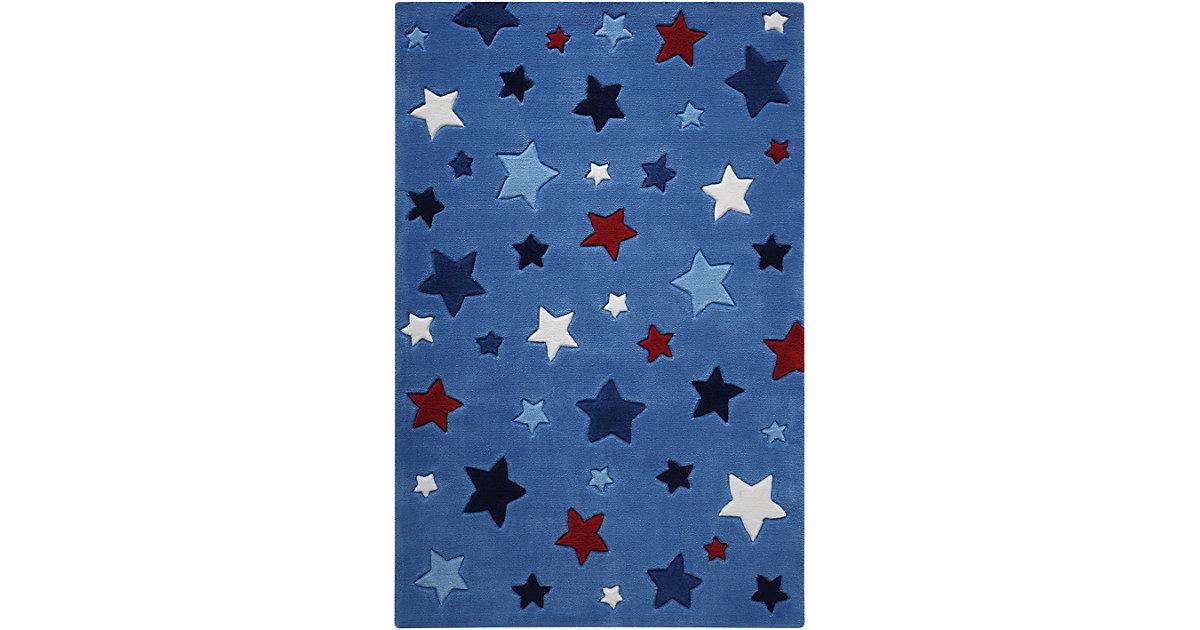 Smart Kids · Teppich Simple Stars, blau Gr. 130 x 190