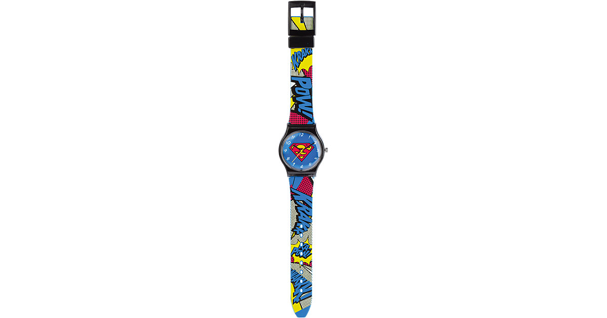 Armbanduhr analog Superman Jungen Kinder