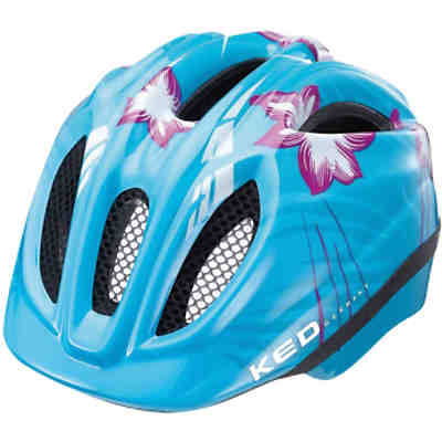 Fahrradhelm Meggy Lightblue Flower
