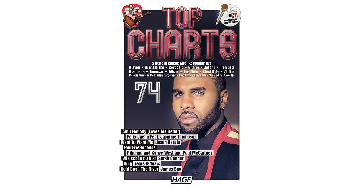 Top Charts, mit Playback-Audio-CD