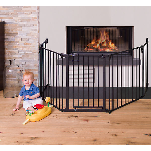 Konfigurationsgitter Fireplace Guard XL, charcoal, 2,60 m