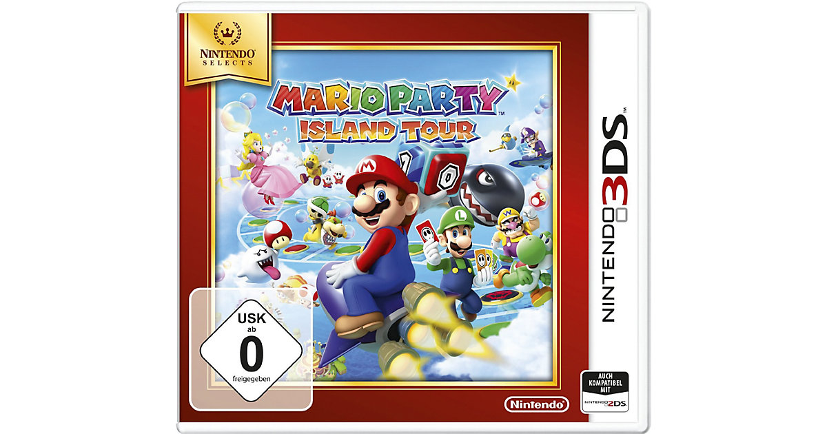 3DS Mario Party: Island Tours (Selects)