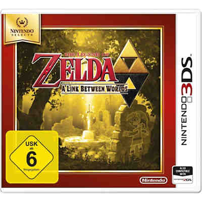 3DS The Legend of Zelda: Between Worlds (Selects)