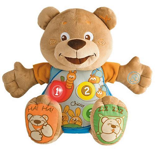 Говорящий мишка Teddy, рус/англ, Chicco от CHICCO