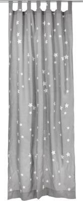 Sommer Schlafsack 150 cm NEU grau mit weißen Sternen