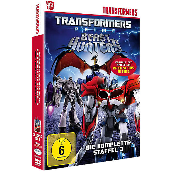 DVD Transformers Prime - Beast Hunters (Staffel 3)