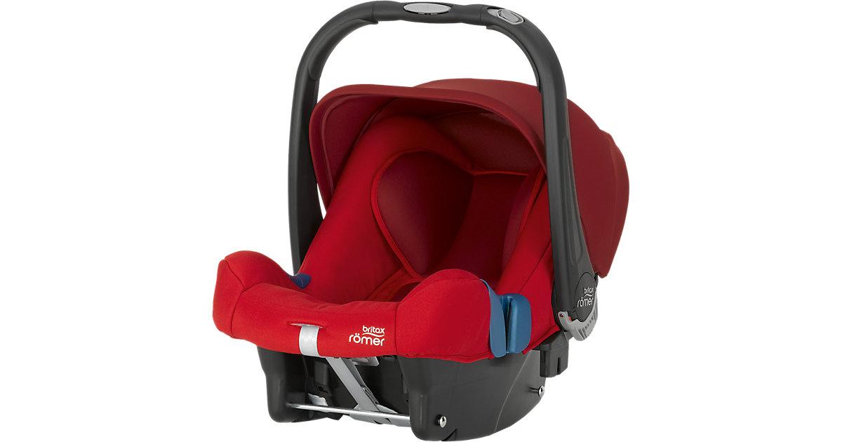 Britax Römer · Babyschale Baby-Safe Plus SHR II, Flame Red, 2016 Gr. 0-13 kg