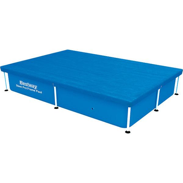 abdeckplane f r frame pool 221 x 150cm bestway mytoys. Black Bedroom Furniture Sets. Home Design Ideas