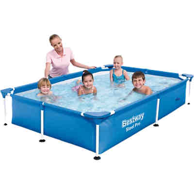 Frame Pool Splash Jr. - Steel Pro 221 x 150 x 43cm