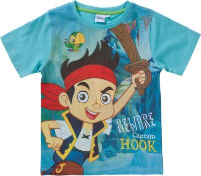 DISNEY JAKE UND DIE NIMMERLANDPIRATEN T Shirt Für Jungen