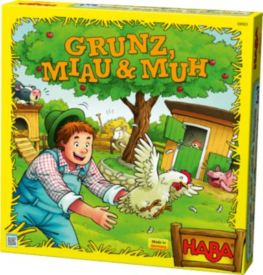 Spielesammlung Grunz, Miau & Muh