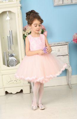 Нарядное платье для девочки Sweet Berry - розовый