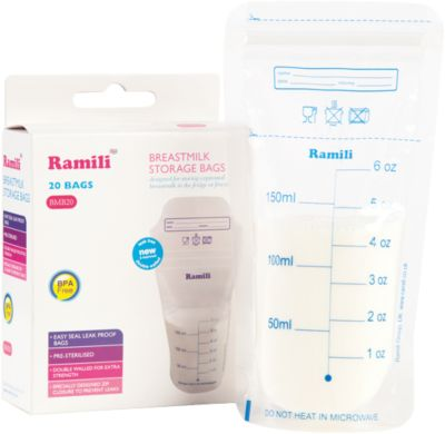 "Пакеты для хранения грудного молокаRamili ""Breastmilk"""