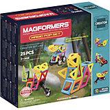 Магнитный конструктор Magic Pop, 25 деталей, MAGFORMERS