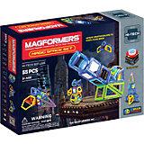 Магнитный конструктор  Magic Space, 55 деталей, MAGFORMERS