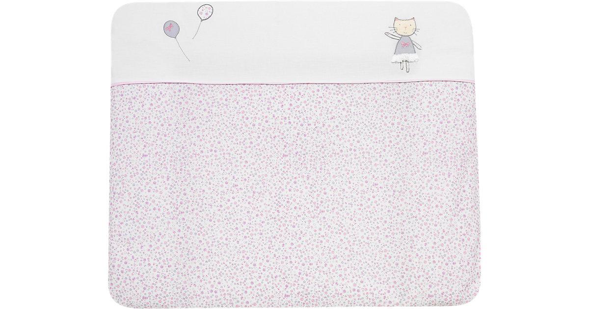 Alvi · Alvi Wickelauflage und Bezug Cats rosa 70x85 cm