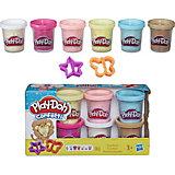Набор из 6 баночек с конфетти, Play-Doh