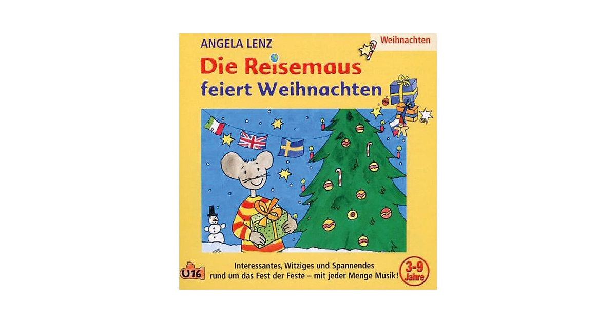 CD Die Reisemaus feiert Weihnachten Hörbuch