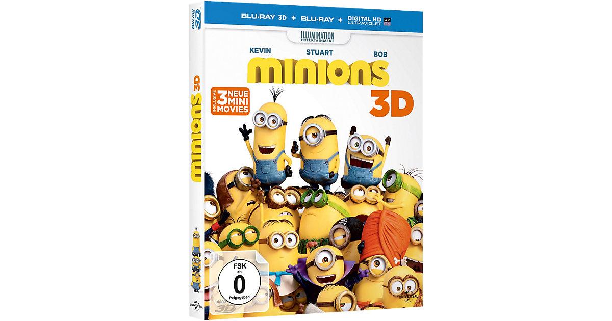 BLU-RAY Minions (3D)