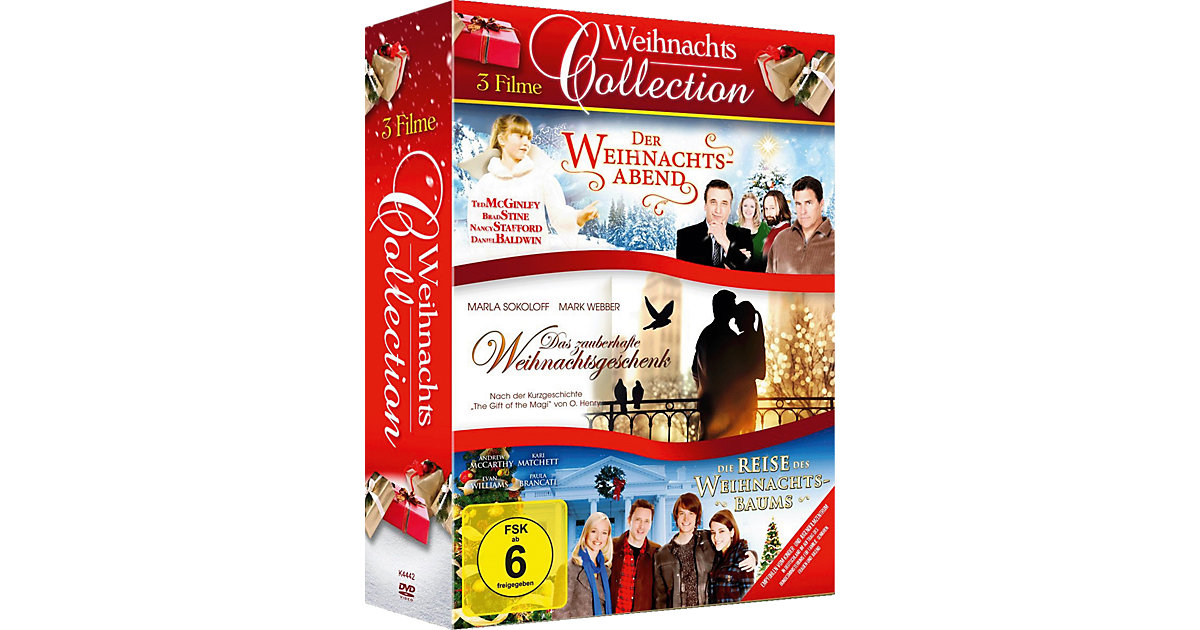 DVD Weihnachtscollection - 3 Filme