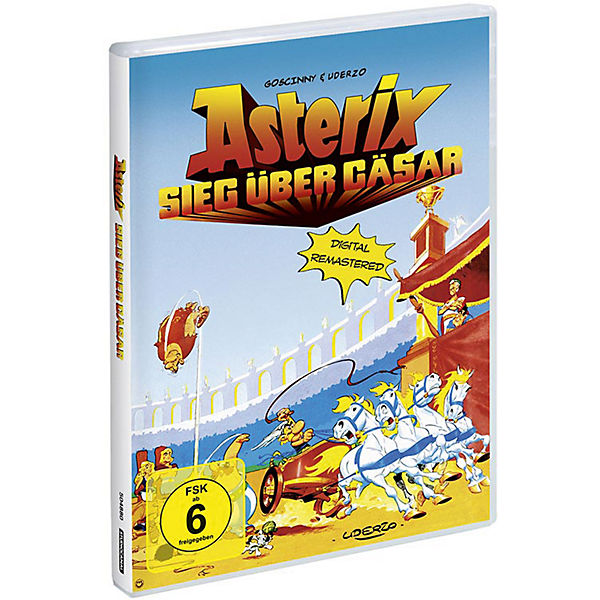 DVD Asterix - Sieg über Cäsar (Digital Remastered)