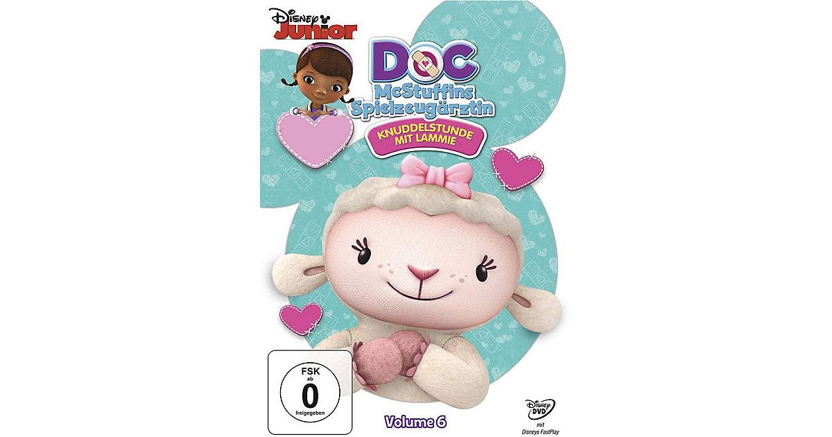 DVD Doc McStuffins Spielzeugärztin 06 - Knuddelststunde mit Lammie