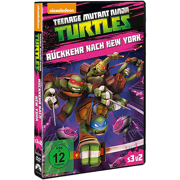 DVD Teenage Mutant Ninja Turtles - Rückkehr nach New York