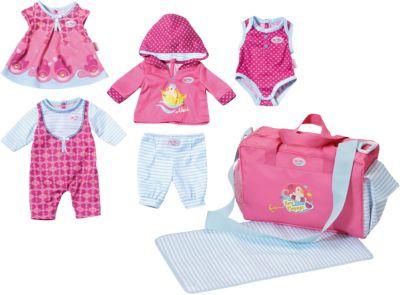 Puppen & Zubehör Puppenkleidung 43cm rosa Baby Born Set Kleider Kleidung Klamotten Junge Mädchen