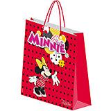 """Подарочный пакет """"Минни Маус"""" 28*34*9 см"""