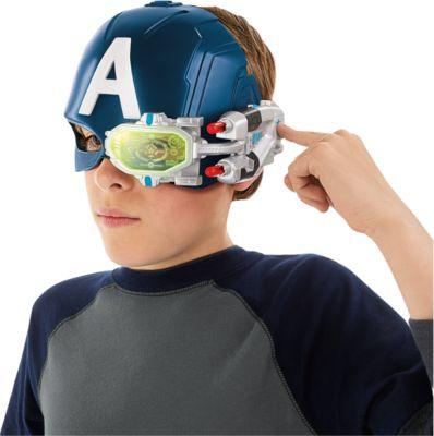 Avengers Captain America Elektronischer Action-Helm Jungen Kinder