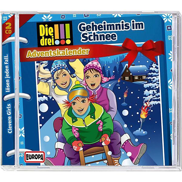 Cd Die Drei Adventskalender Geheimnis Im Schnee Sony Mytoys
