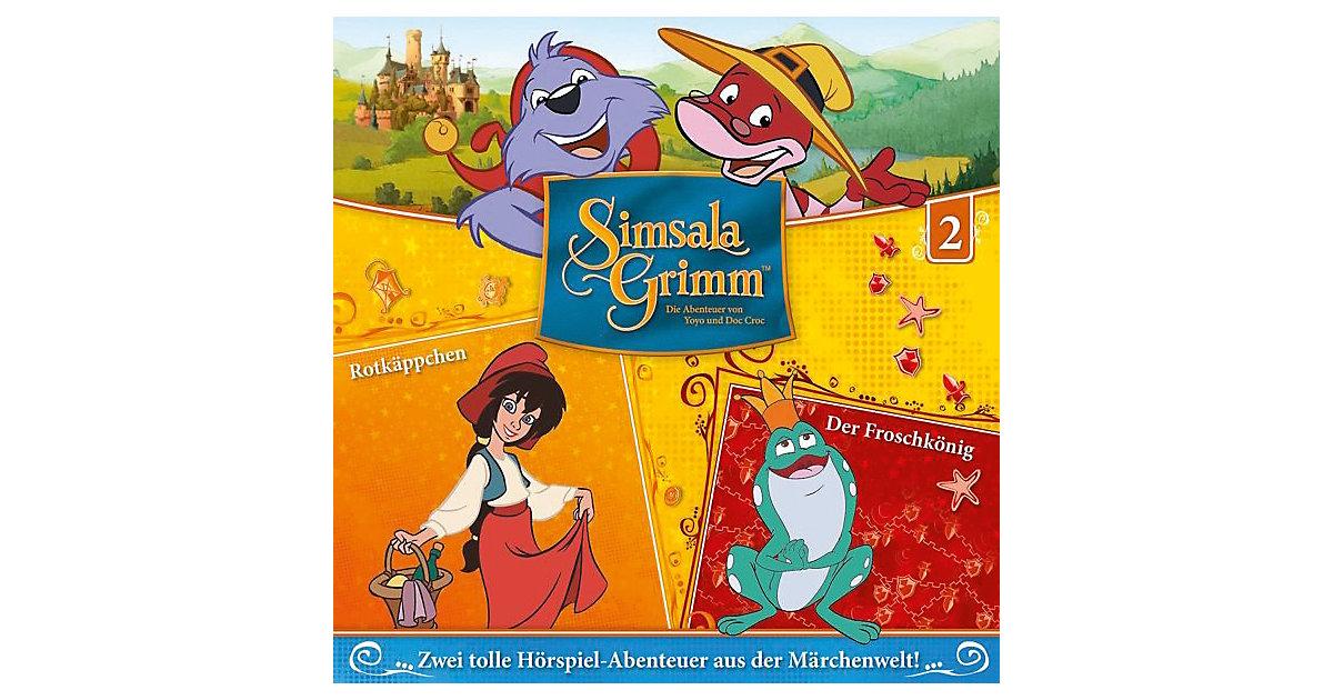 CD Simsalagrimm 02 - Rotkäppchen/Der Froschkönig