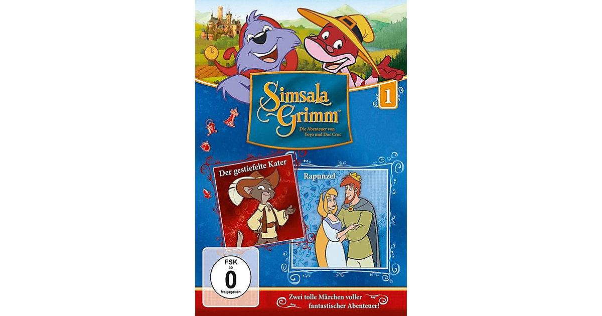 DVD Simsalagrimm 01 - Der Gestiefelte Kater/Rap...