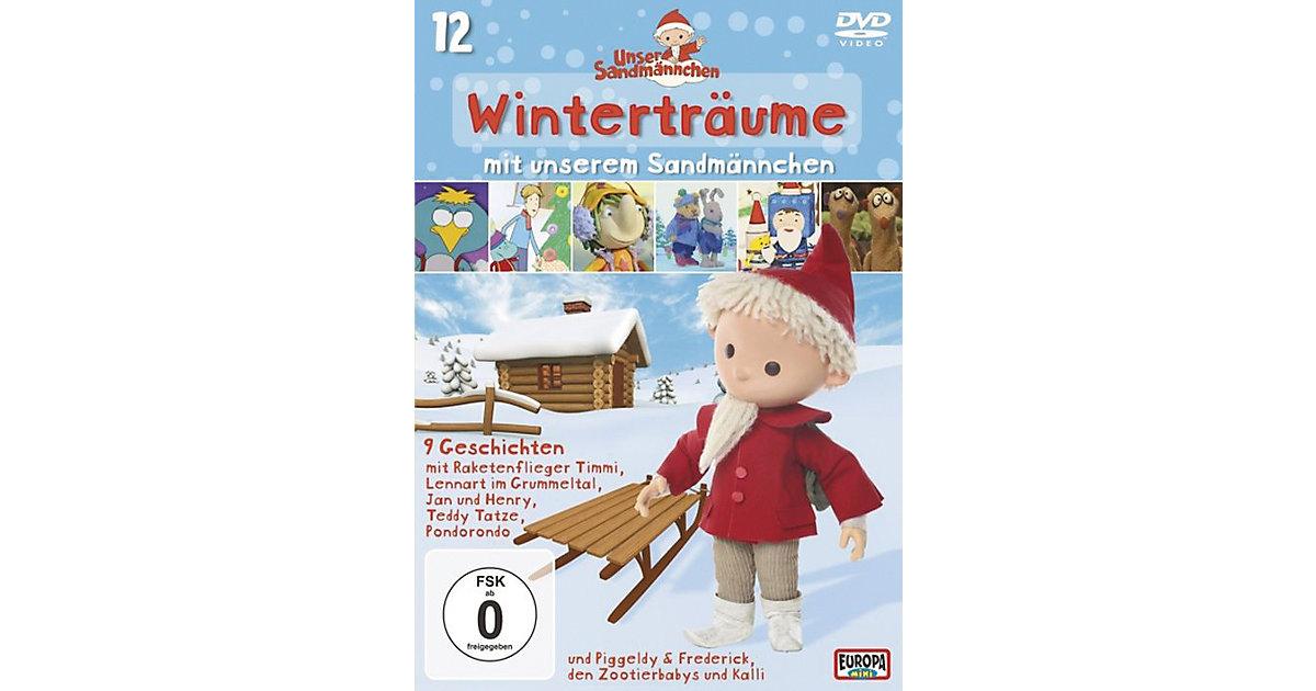 DVD Unser Sandmännchen 12 - Winterträume Hörbuch