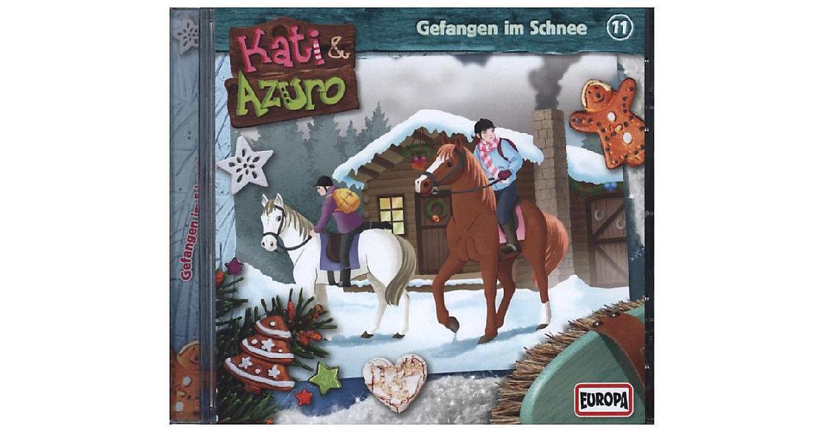 CD Kati & Azuro 11 - Gefangen im Schnee Hörbuch